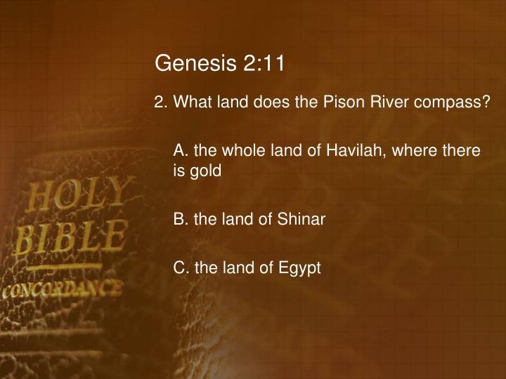 Genesis 2:11