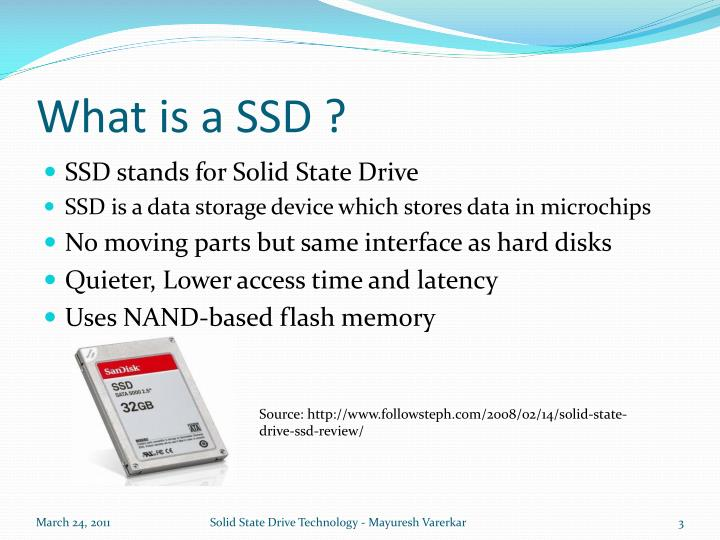 What is a SSD ?