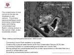 case study cotter uranium mill site