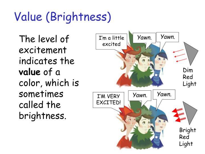 Value (Brightness)