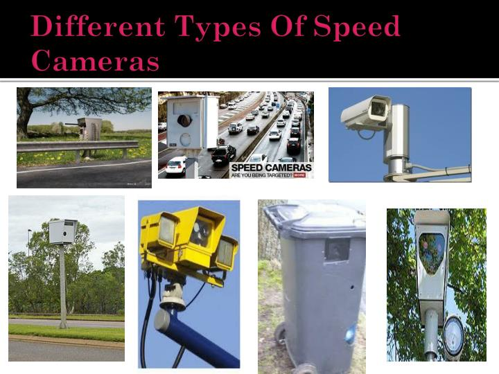 Different Types Of Speed Cameras
