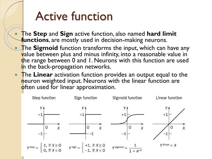 Active function
