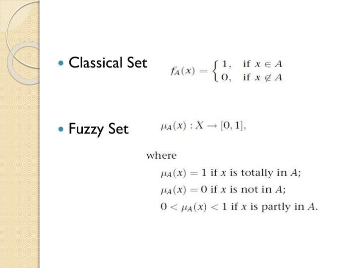 Classical Set