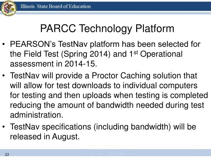 PARCC Technology Platform