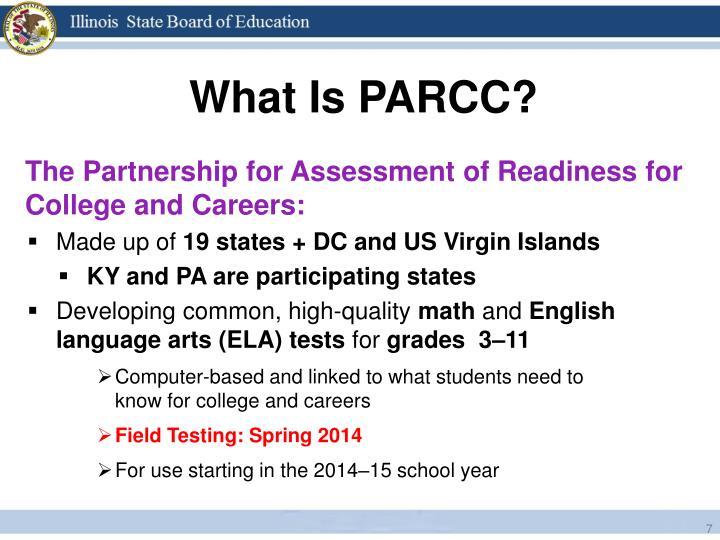 What Is PARCC?