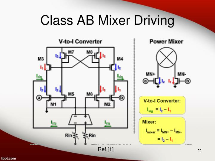 Class AB Mixer Driving