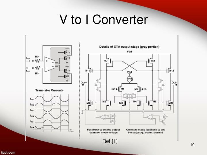 V to I Converter