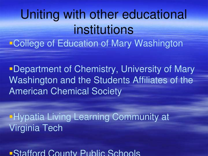 College of Education of Mary Washington