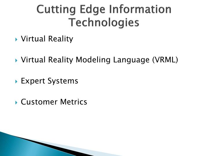 Cutting Edge Information Technologies