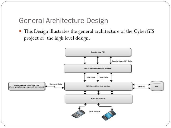 General Architecture Design
