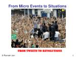from micro events to situations