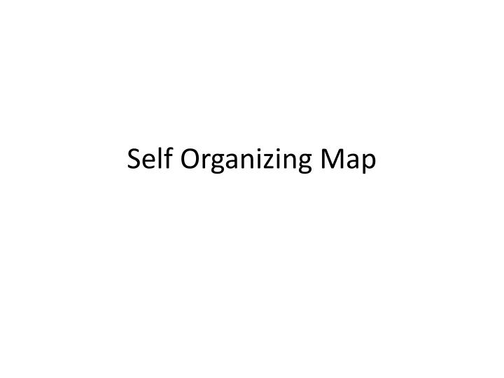 Self Organizing Map