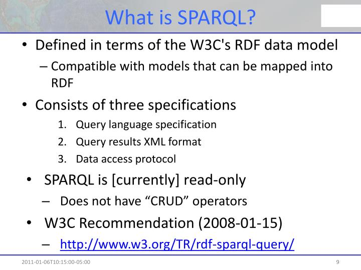 What is SPARQL?
