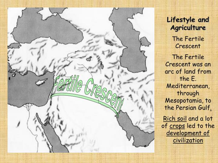 Lifestyle and Agriculture