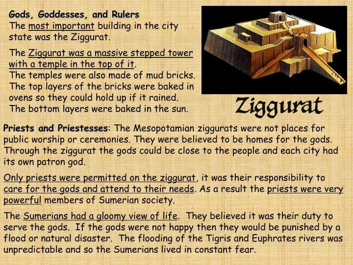 Gods, Goddesses, and Rulers
