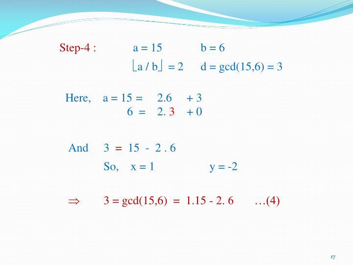 Step-4 :