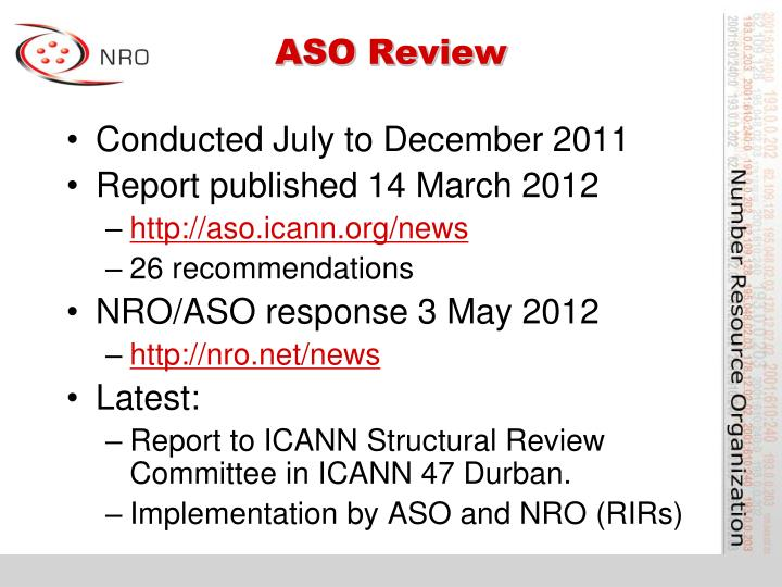 ASO Review