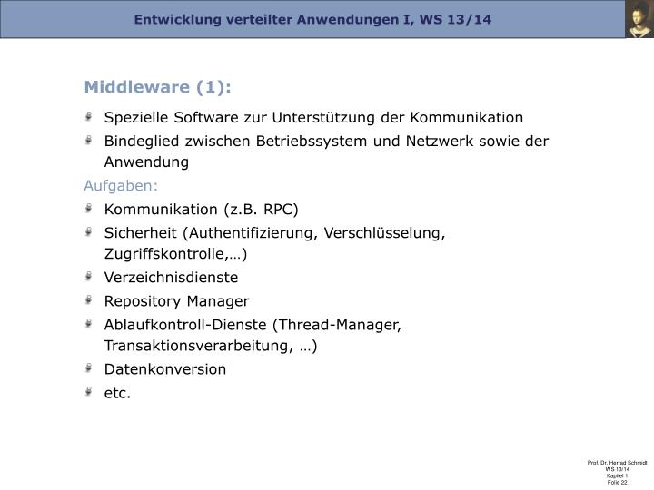Middleware (1):