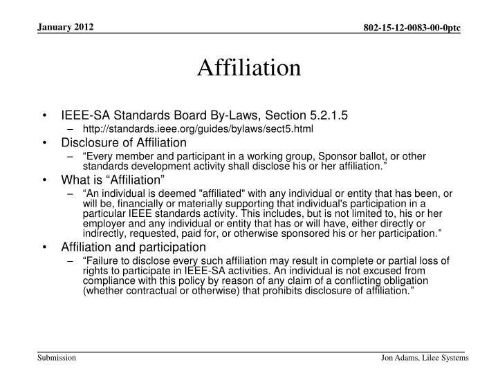 IEEE-SA Standards Board By-Laws, Section 5.2.1.5