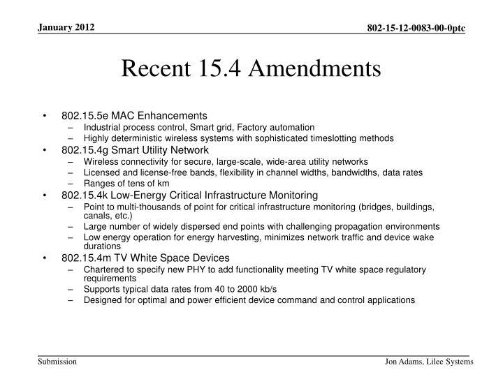802.15.5e MAC Enhancements