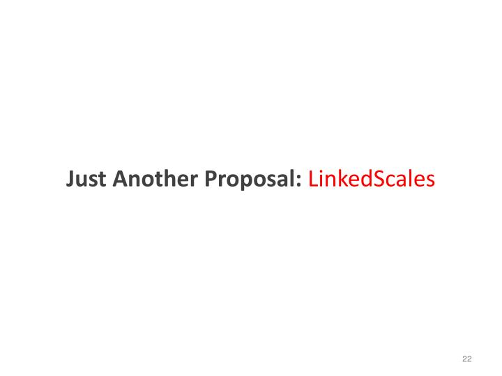Just Another Proposal:
