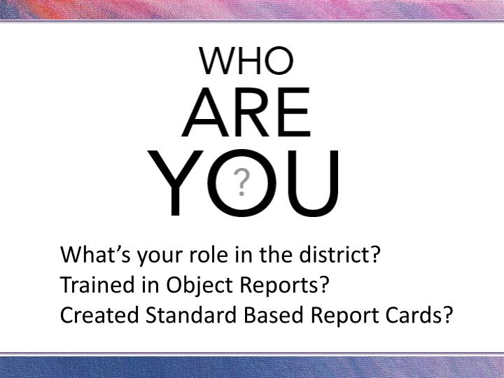 What's your role in the district?