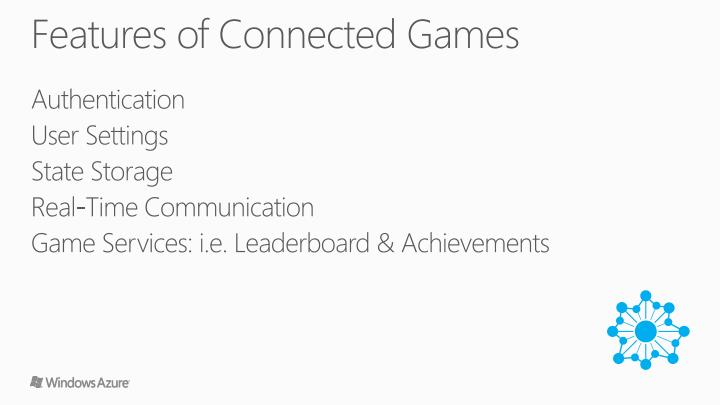 Features of Connected Games