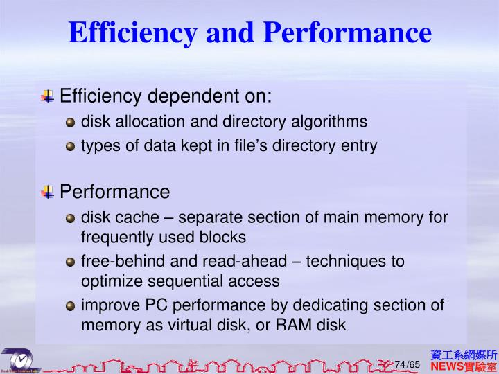 Efficiency and Performance