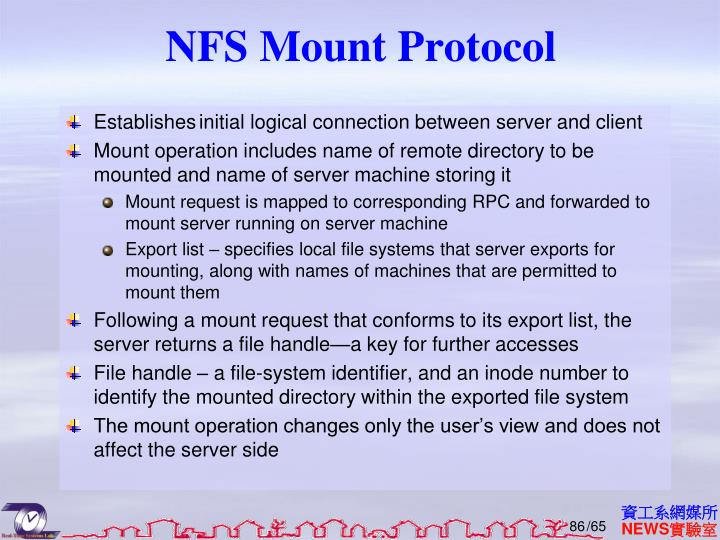 NFS Mount Protocol