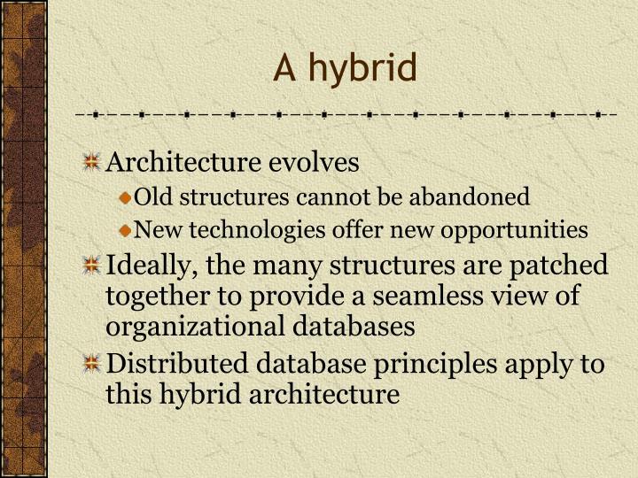 A hybrid