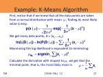 example k means algorithm1