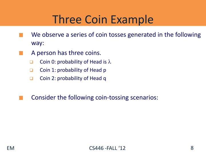 Three Coin Example