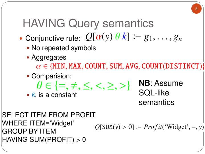 Conjunctive rule: