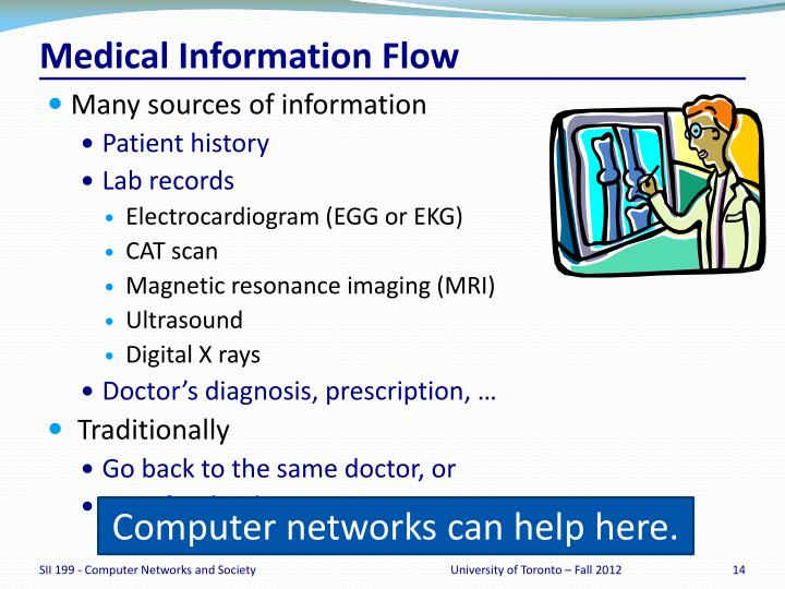 Medical Information Flow