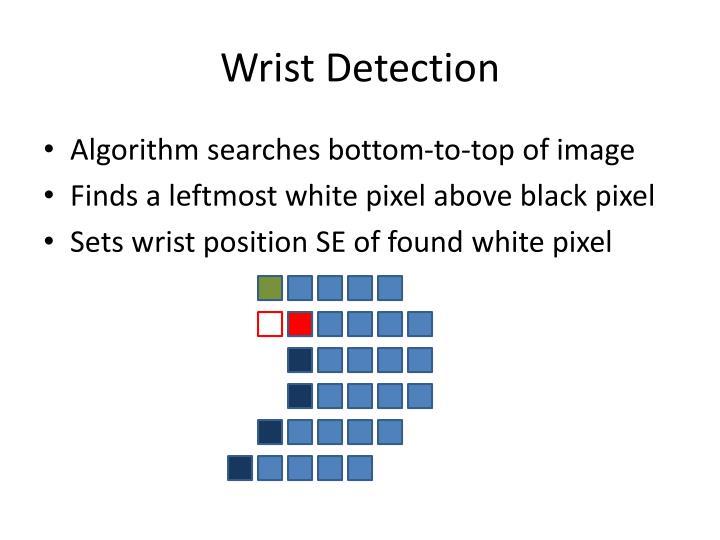 Wrist Detection