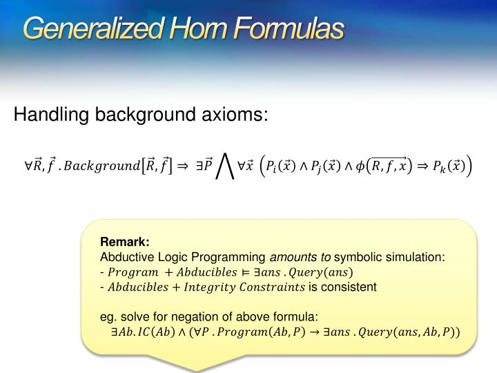 Generalized Horn Formulas