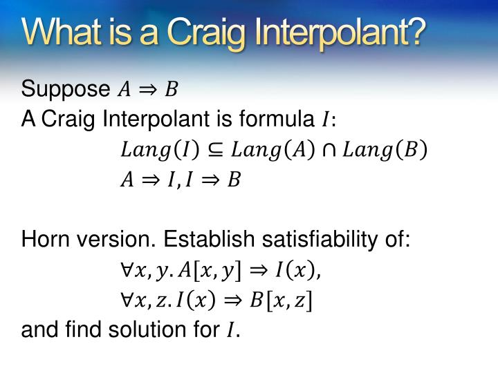 What is a Craig