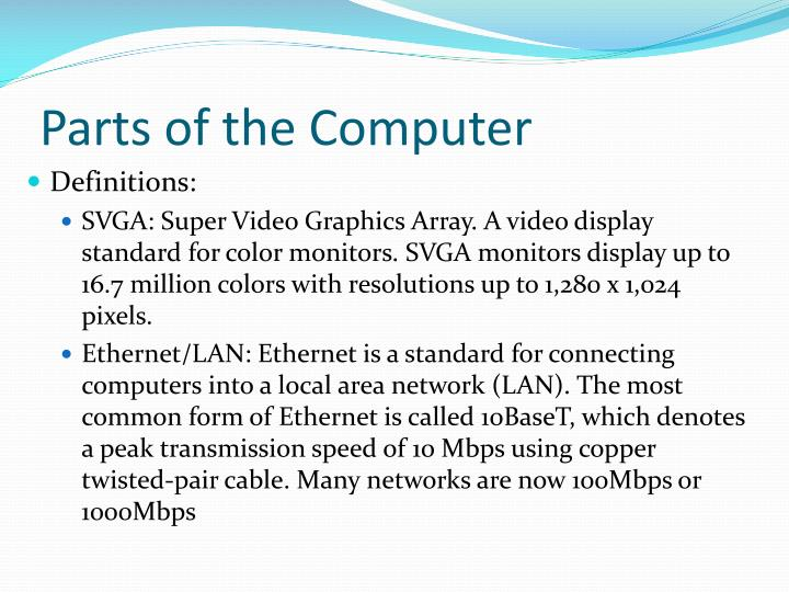 the summary of parts computer Computer technology essay sample by lauren bradshaw april thesis or dissertation on computer technology at our professional custom essay writing service which provides students with custom papers written by pay in several installments and receive your paper in parts enl (us, gb, au.