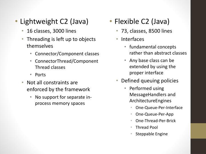 Lightweight C2 (Java)