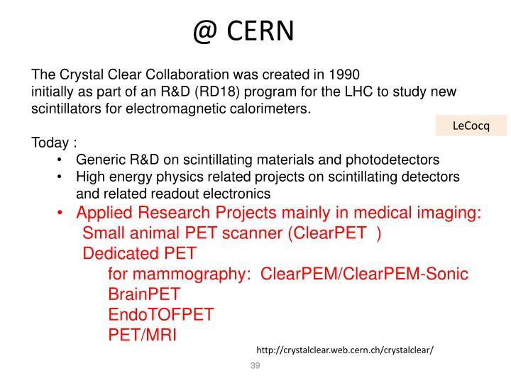 @ CERN