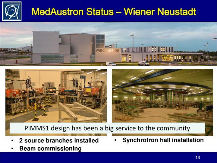 MedAustron Status – Wiener
