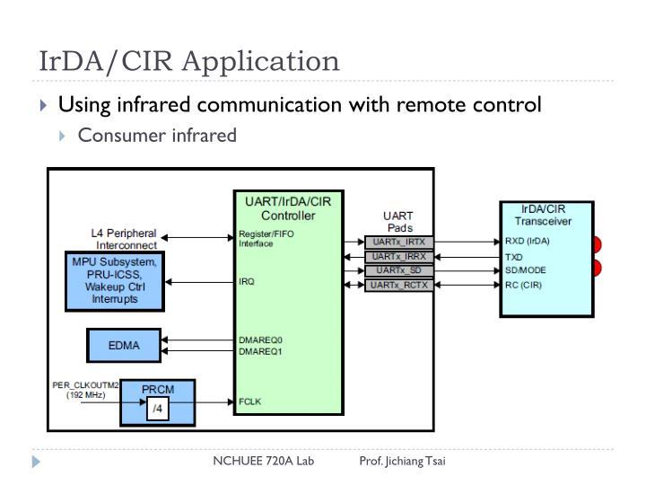 IrDA/CIR Application