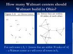 how many walmart centers should walmart build in ohio