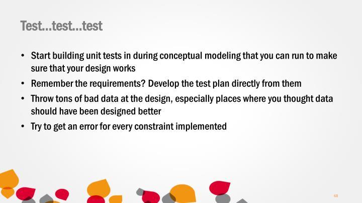 Test…test…test