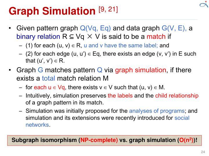 Graph Simulation