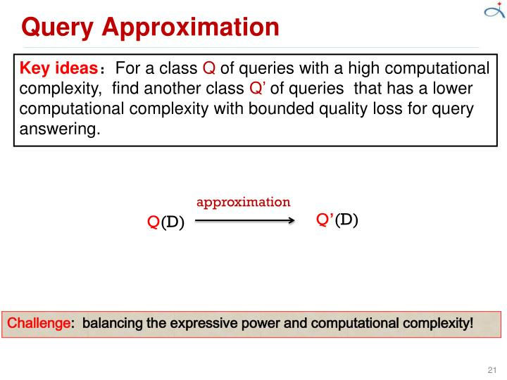 Query Approximation