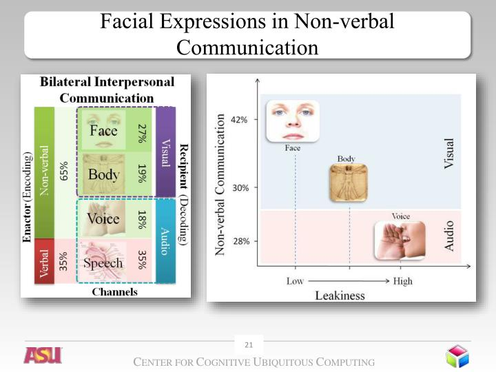 Facial Expressions in Non-verbal Communication
