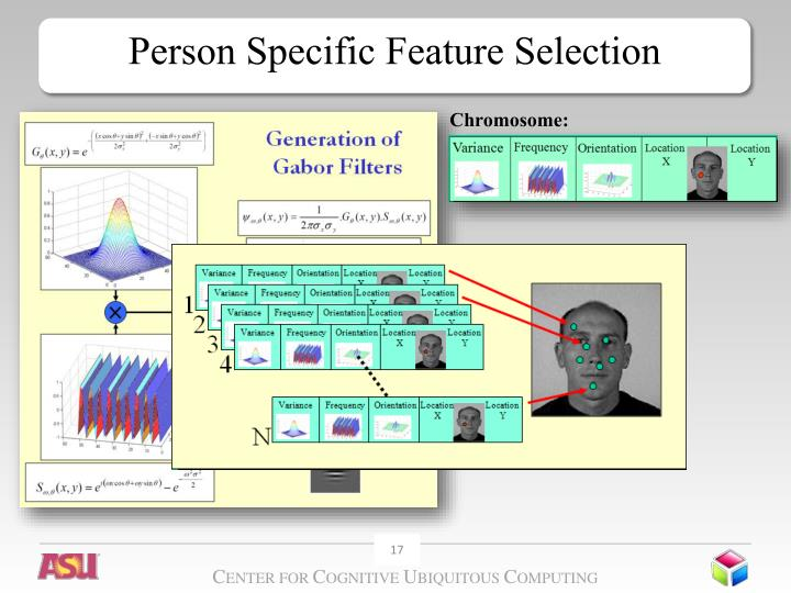 Person Specific Feature Selection