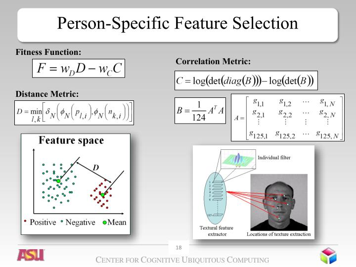 Person-Specific Feature Selection