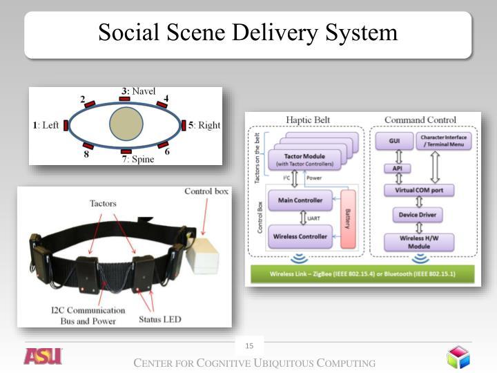 Social Scene Delivery System